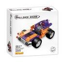 Mikro trading LiNooS stavebnice Pullback Racer - Auto sportovní - 223 ks