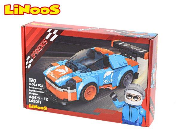 Mikro trading LiNooS stavebnice Speedies - Auto sportovní - 170 ks