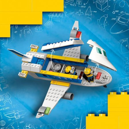 LEGO Minions 75547 - Mimoňský pilot v zácviku
