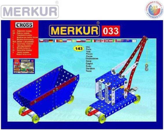 Merkur Stavebnice Merkur - M 033 Železniční modely