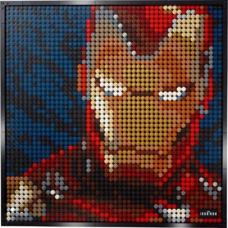 LEGO Art 31199 - Iron Man od Marvelu
