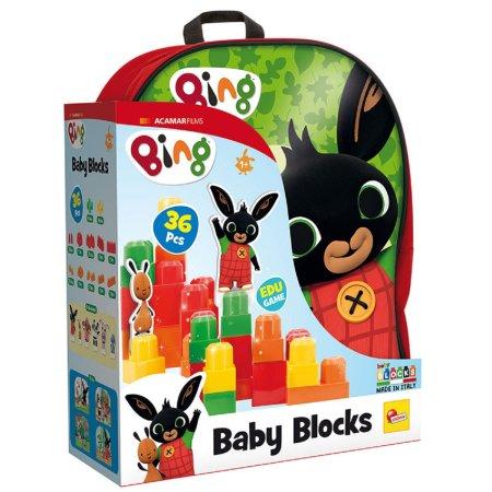 Liscianigioch BING - Batoh s kostkama Baby Blocks