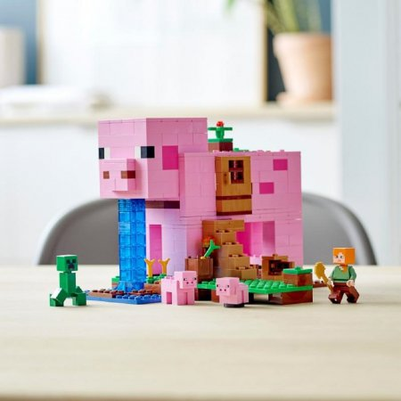 LEGO Minecraft 21170 - Prasečí dům