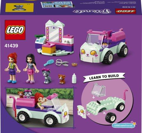 LEGO Friends 41439 - Pojízdné kočičí kadeřnictví