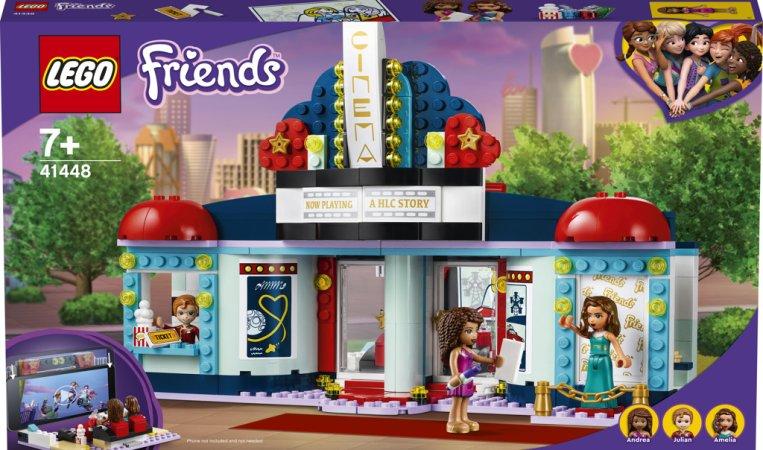 LEGO Friends 41448 - Kino v městečku Heartlake