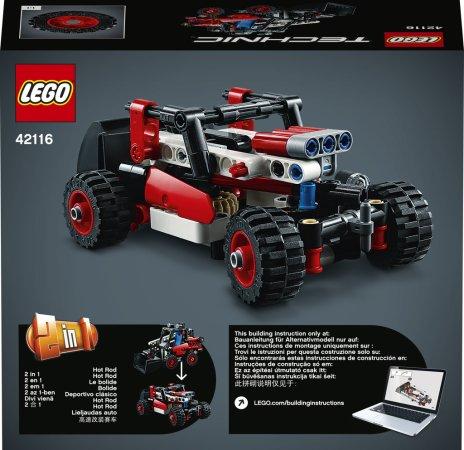 LEGO Technic 42116 - Smykový nakladač 2v1