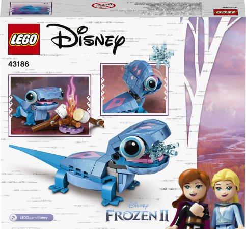 LEGO Disney Princess 43186 - Mlok Bruni – sestavitelná postavička