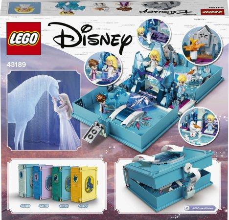 LEGO Disney Princess 43189 - Elsa a Nokk a jejich pohádková kniha dobrodružství
