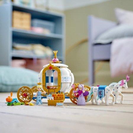 LEGO Disney Princess 43192 - Popelka a královský kočár