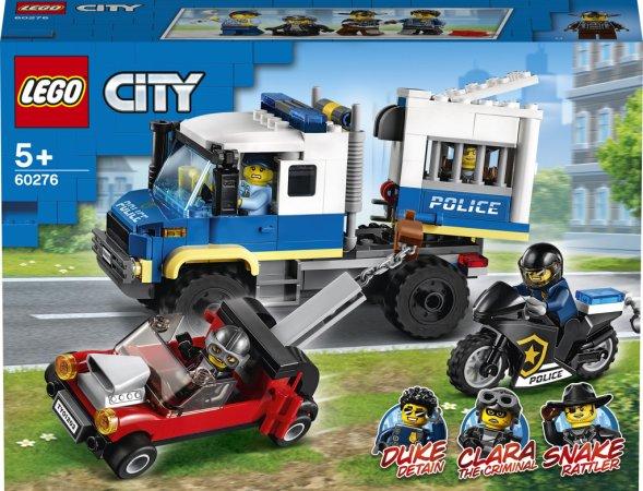 LEGO City 60276 - Vězeňský transport