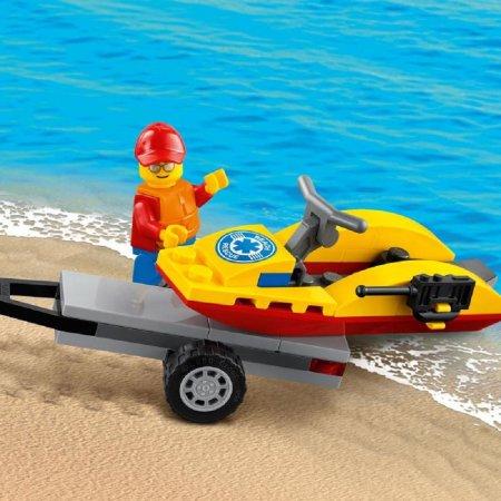 LEGO City 60286 - Záchranná plážová čtyřkolka