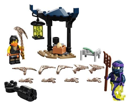 LEGO Ninjago 71733 - Epický souboj – Cole vs. přízračný válečník