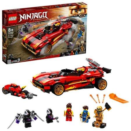 LEGO Ninjago 71737 - Kaiův červený bourák