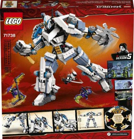 LEGO Ninjago 71738 - Zane a bitva s titánskými roboty