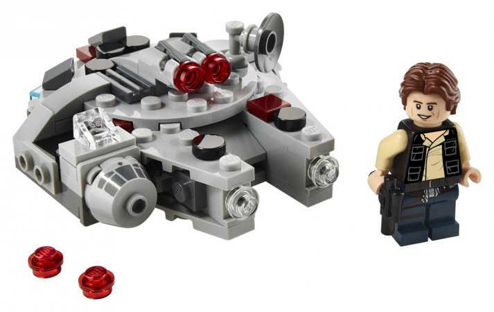 LEGO Star Wars 75295 - Mikrostíhačka Millennium Falcon