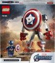 LEGO Marvel Avengers 76168 - Captain America v obrněném robotu