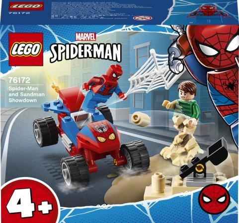 LEGO Marvel Spiderman 76172 - Poslední bitva Spider-Mana se Sandmanem