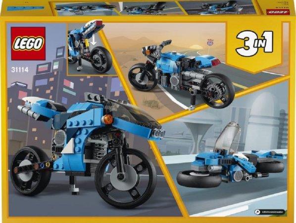 LEGO Creator 31114 - Supermotorka 3v1