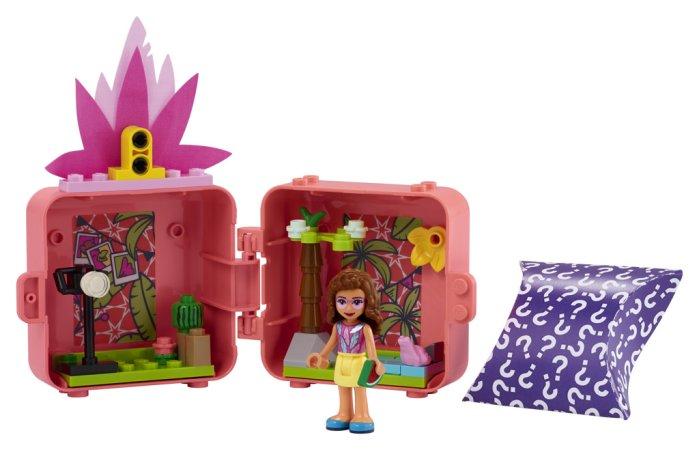 LEGO Friends 41662 - Olivia a její plameňákový boxík